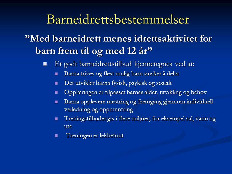 BARN OG IDRETT Eystein Enoksen Norges idrettshøgskole Foredrag, Jardar IL, 2012