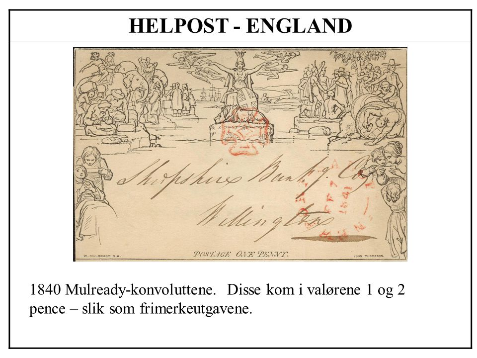 HELPOST - NORGE 1872 Brevkort – de første utgavene var i skillingvalør (2 og 3 skilling) og med motiv posthorn.