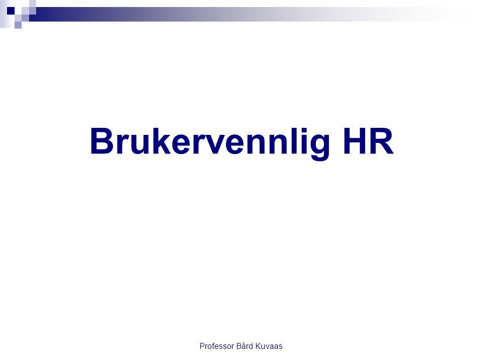 Brukervennlig HR