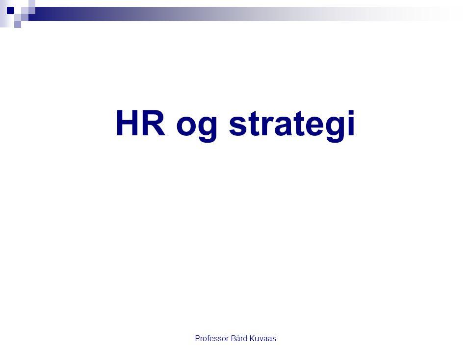 HR og strategi