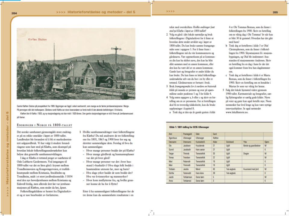Ønsker faksimile: Vis hele oppslaget side 354-55? Deretter: Kilde 1 på side 355 Deretter: hele oppslaget side 356-57