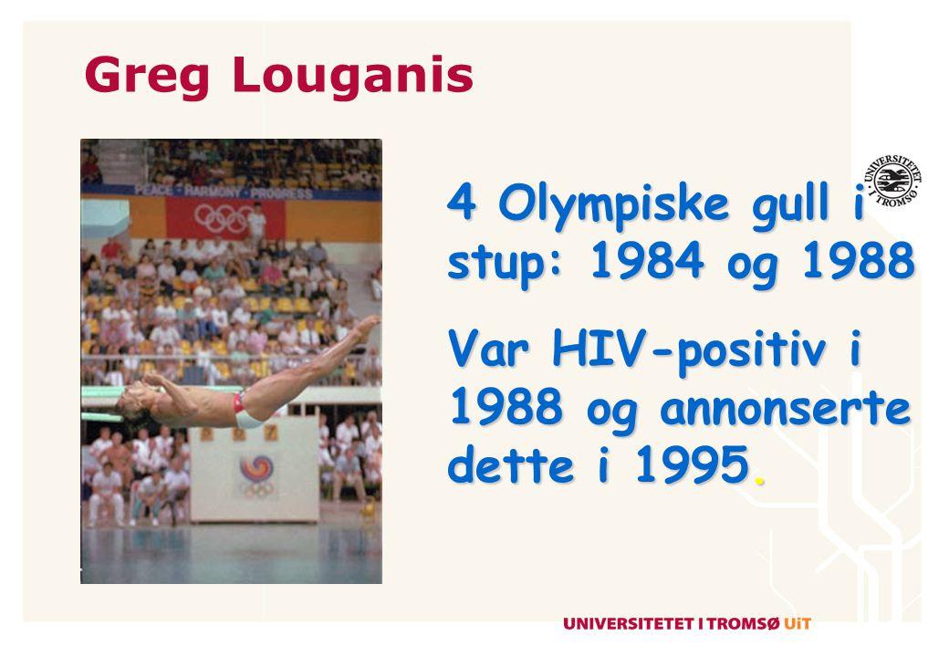 Earvin Magic Johnson Basket superstar HIV- positiv i 1991 Olympisk gull i 1992
