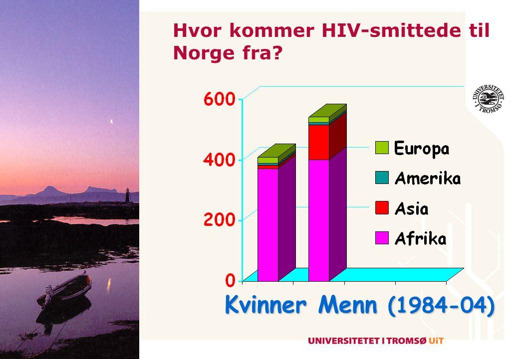 NordlandTromsFinnmark HIV i Nord-Norge År 2000 2005 2009
