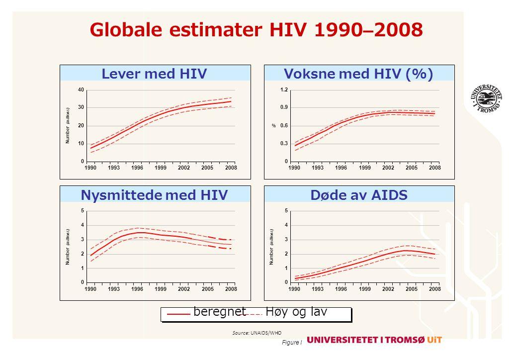 Døde av AIDS med eller uten HIV medisin 1996–2008 AsiaCaribbeanEastern Europe and Central Asia Latin AmericaMiddle East and North AfricaSub-Saharan Africa 160 120 80 40 0 25 20 10 5 0 2.0 1.6 1.2 0.4 0 (thousands) (millions) 199619982000200220042006200819961998200020022004200620081996199820002002200420062008 15 0.8 20 10 0 120 80 40 20 0 19961998200020022004200620081996199820002002200420062008 25 15 5 100 60 1996199820002002200420062008 500 400 200 0 (thousands) 300 100 Figure VI