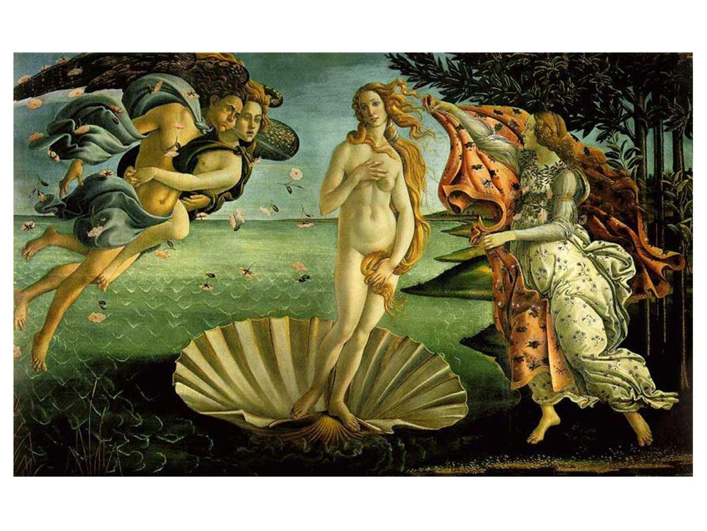 •Sandro Botticelli Venus fødsel