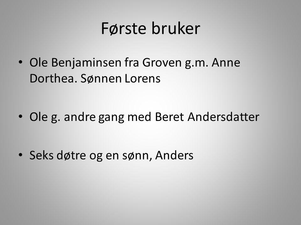 Andre bruker • Anders Olsen, g.m.