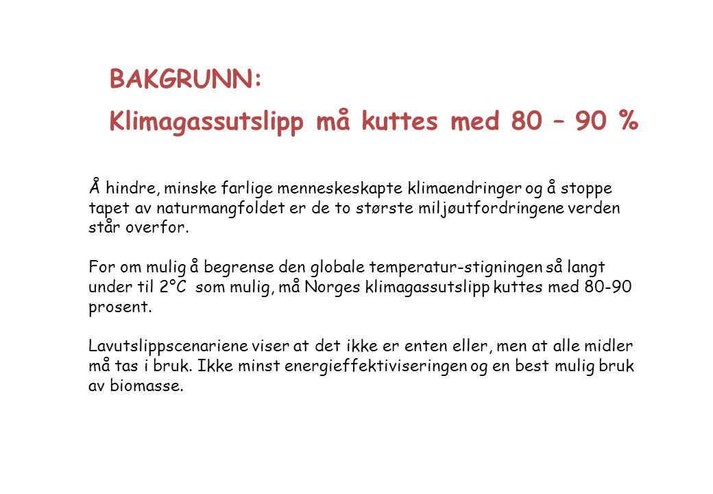 Dual-Fuel - Biogass + Biodiesel Jamfør den svenske distribusjonen av svart og grønn metangass i et gjennomsnittlig blandingsforhold 50 - 50