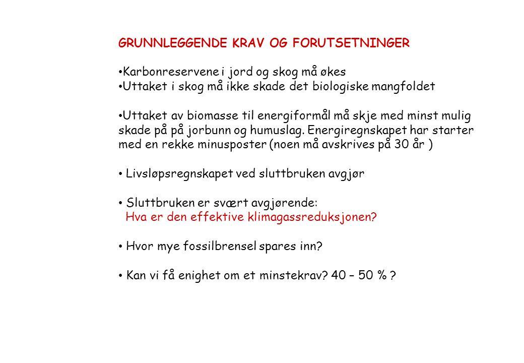 LAVENERGIUTVALGET Etter initiativ fra Naturvernforbnundet – med bakgrunn i prosjektet: Norges største kraftverk» ref.