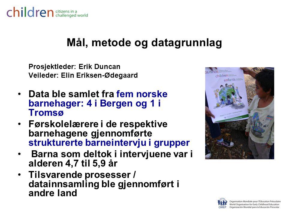 ESD2 - Om bærekraftig utvikling i barnehagen i praksis er inspirert av de syv R´ene De syv R´ene ble opprinnelig definert i Brundtland- kommisjonens rapport Vår felles framtid (1987), og har senere blitt videreutviklet av OMEPs verdensorganisasjon.