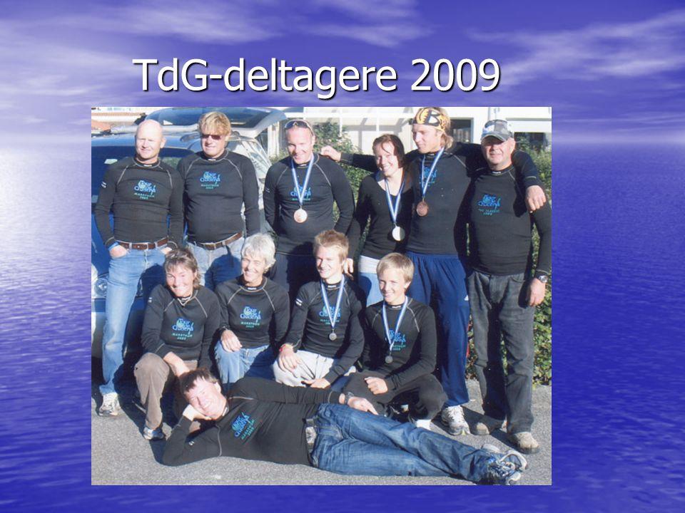 TdG-deltagere 2009 TdG-deltagere 2009