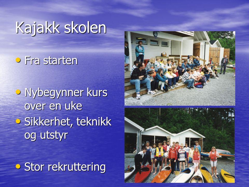 Framtiden • Bedre struktur, organisering og tilbud innen alle våre aktiviteter • Miljø på brygga • Klubben for alle padle frelste