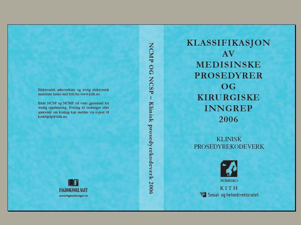9 februar, 2004 NCMP INTRODUKSJON del II Kodeveiledning