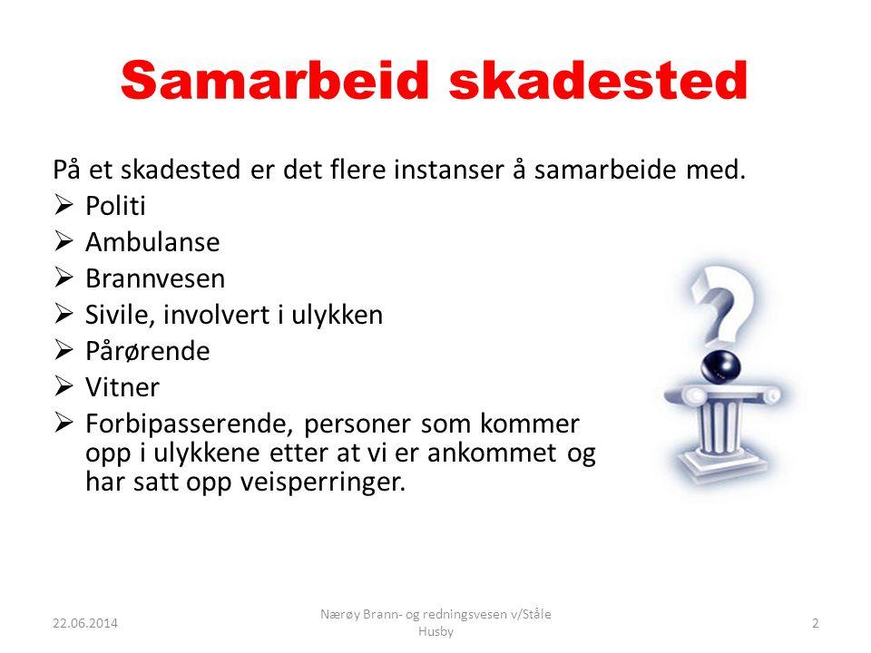 Overblikk O = Observere B = Bedømme B = Beskytte O = Ordre 22.06.20143 Nærøy Brann- og redningsvesen v/Ståle Husby