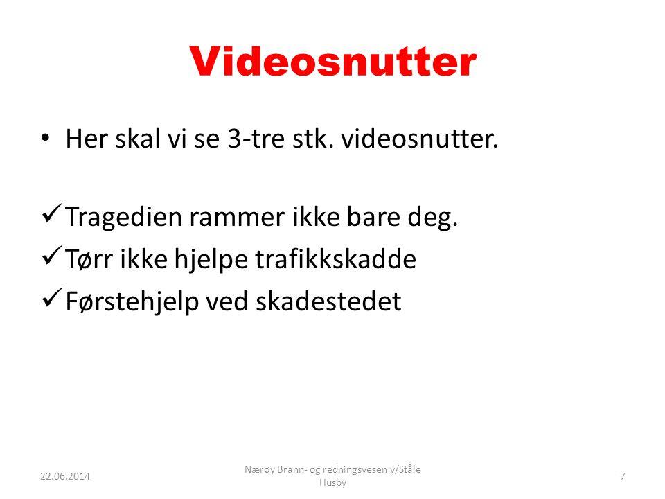 Videosnutter • Her skal vi se 3-tre stk.videosnutter.