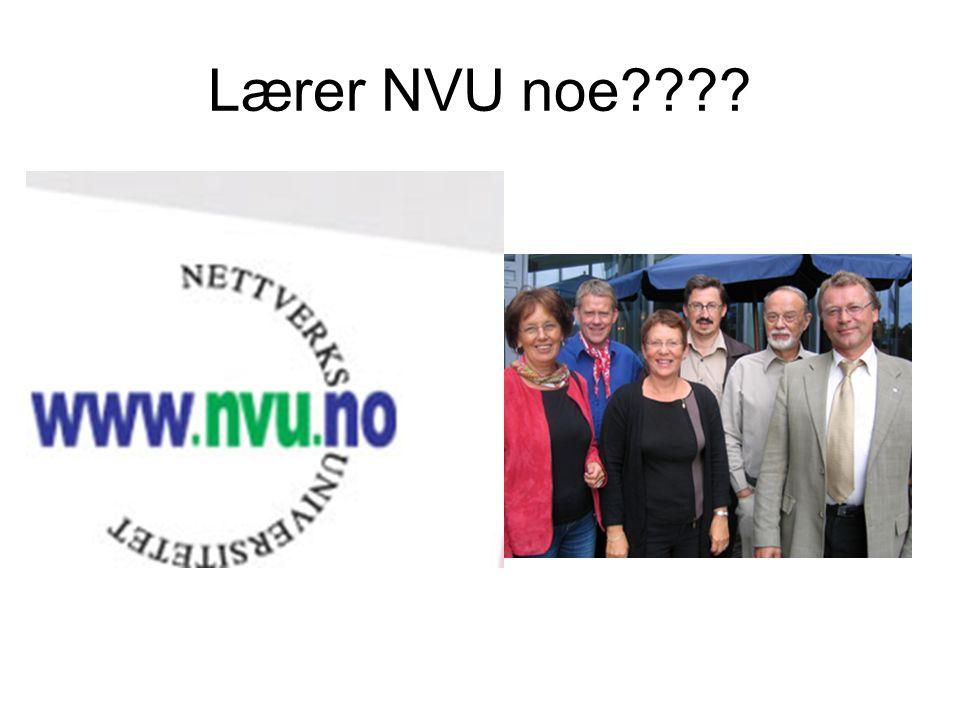 Lærer NVU noe????
