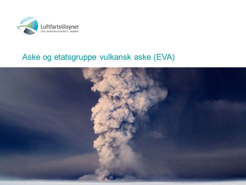Aske og etatsgruppe vulkansk aske (EVA)