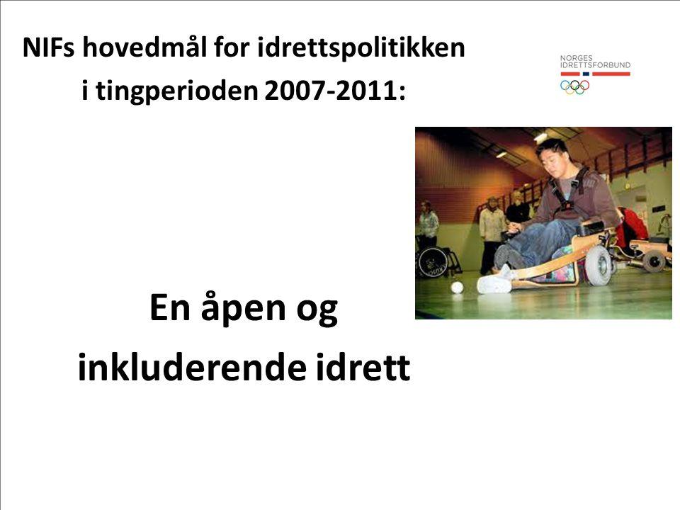 Fokus for konferansen Inkludering i idrettslag – Hva har vi lykkes med.