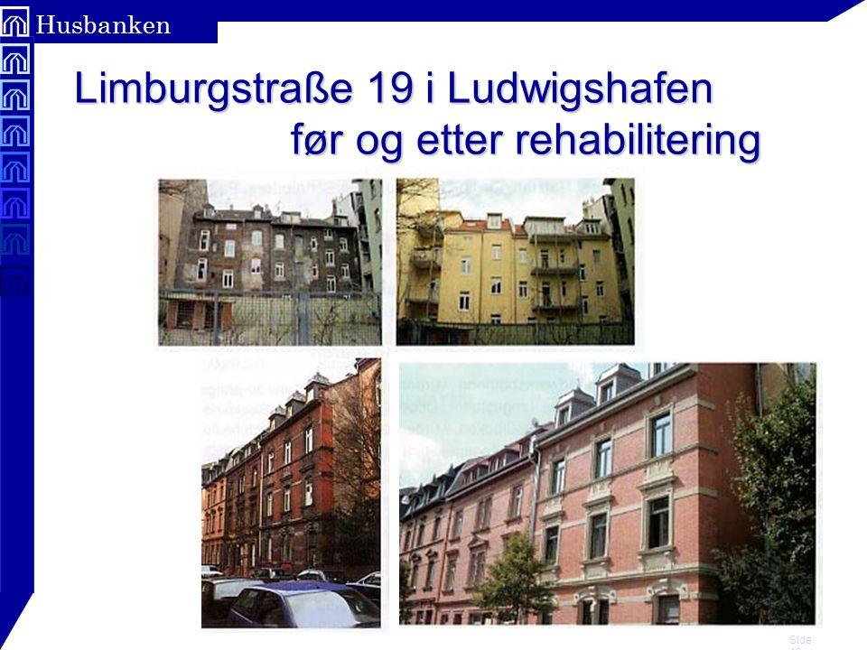 Side 18 Husbanken Limburgstraße 19 i Ludwigshafen før og etter rehabilitering