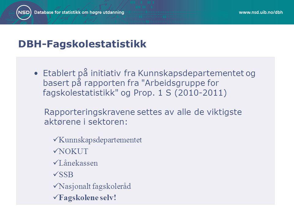Forum for fagskolestatistikk