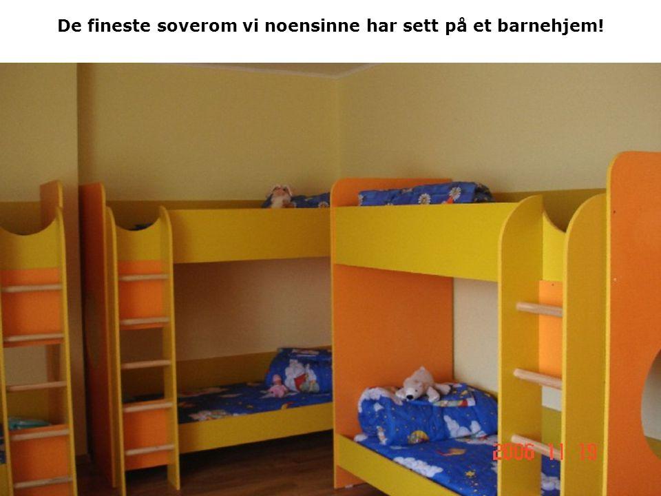 De fineste soverom vi noensinne har sett på et barnehjem!