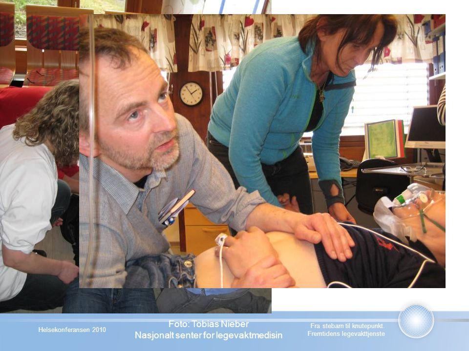 Helsekonferansen 2010 Fra stebarn til knutepunkt. Fremtidens legevakttjenste Foto: Tobias Nieber Nasjonalt senter for legevaktmedisin