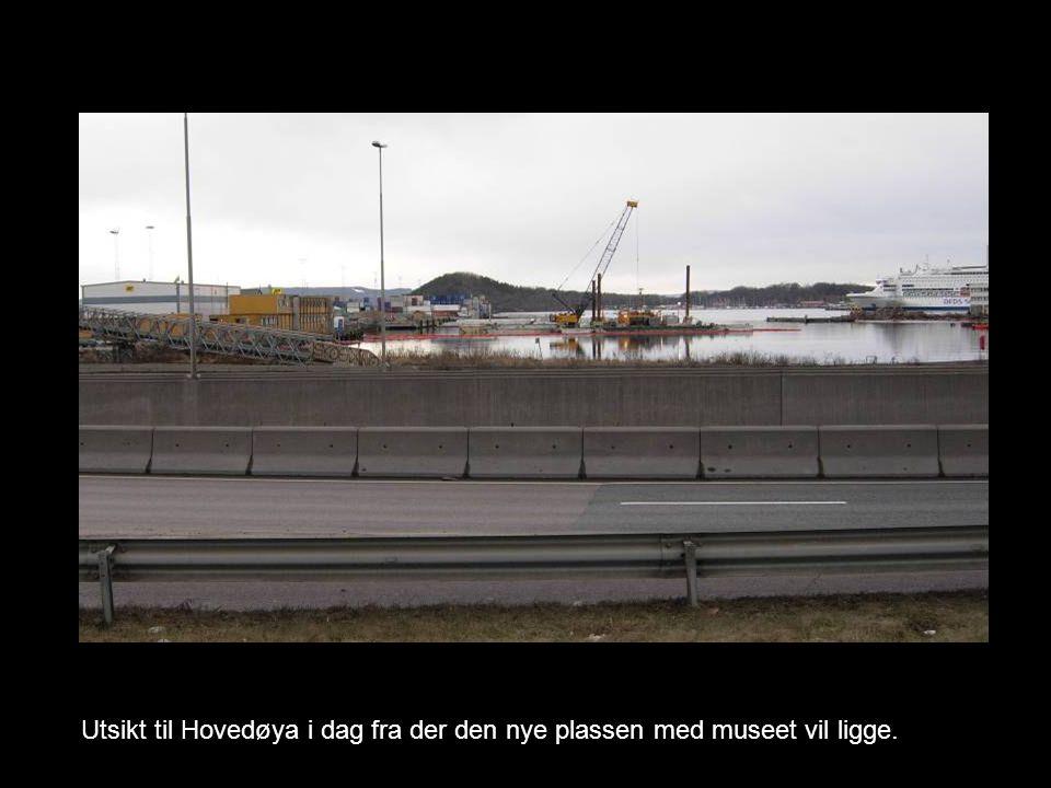 Utsikt til Hovedøya i dag fra der den nye plassen med museet vil ligge.