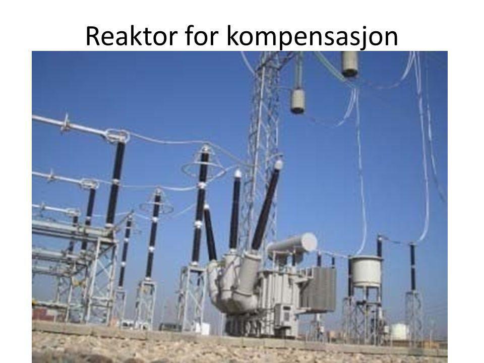 Reaktor for kompensasjon