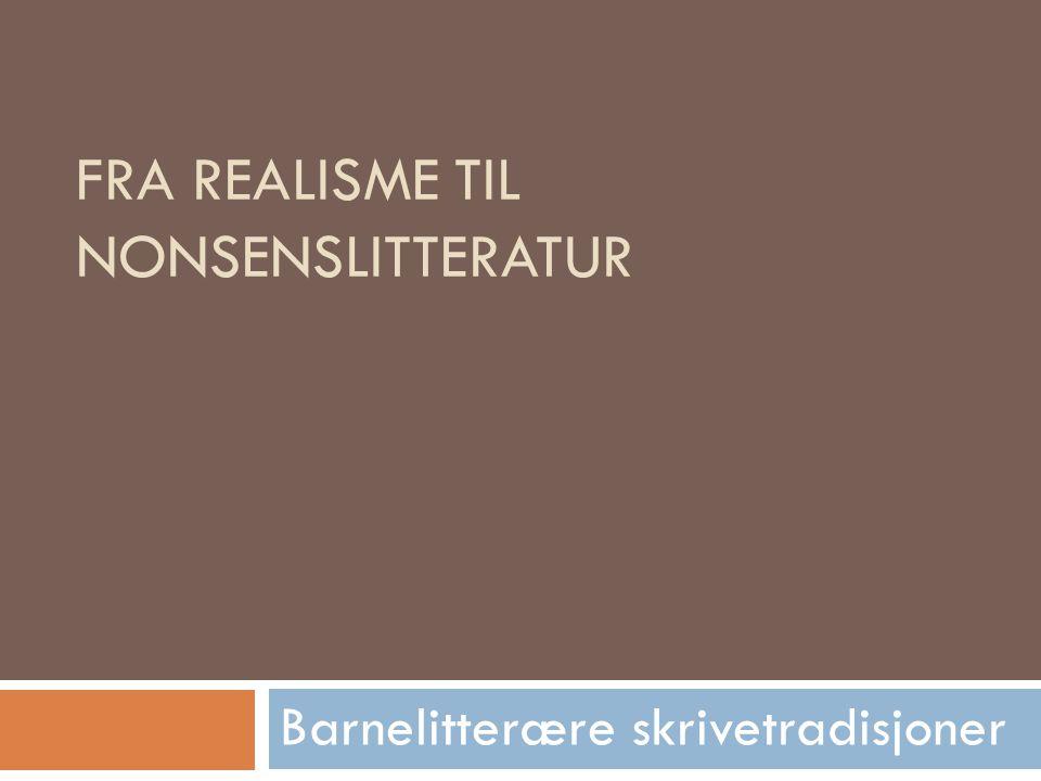Romantikk og nasjonalromantikk  Jørgen Moe: De som er opptatt av frelse og de som kun tenker nytte er motstandere av eventyrene.