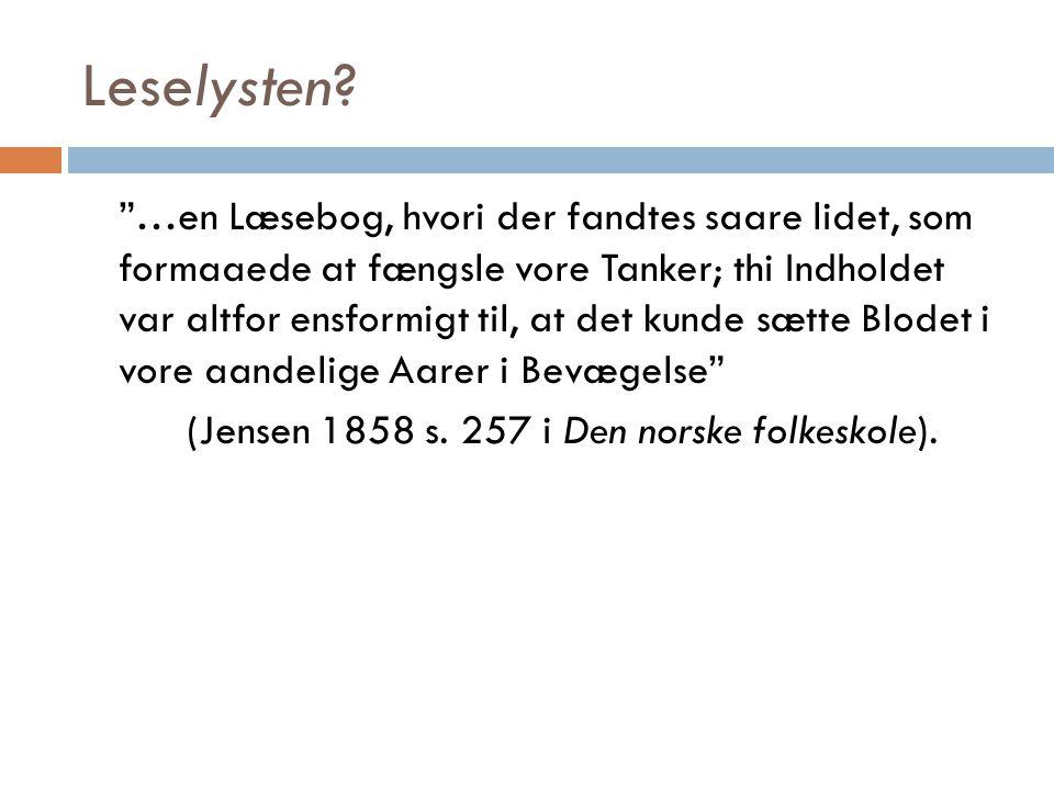 Norsk barnelitteratur under andre verdenskrig Sensurtrussel.