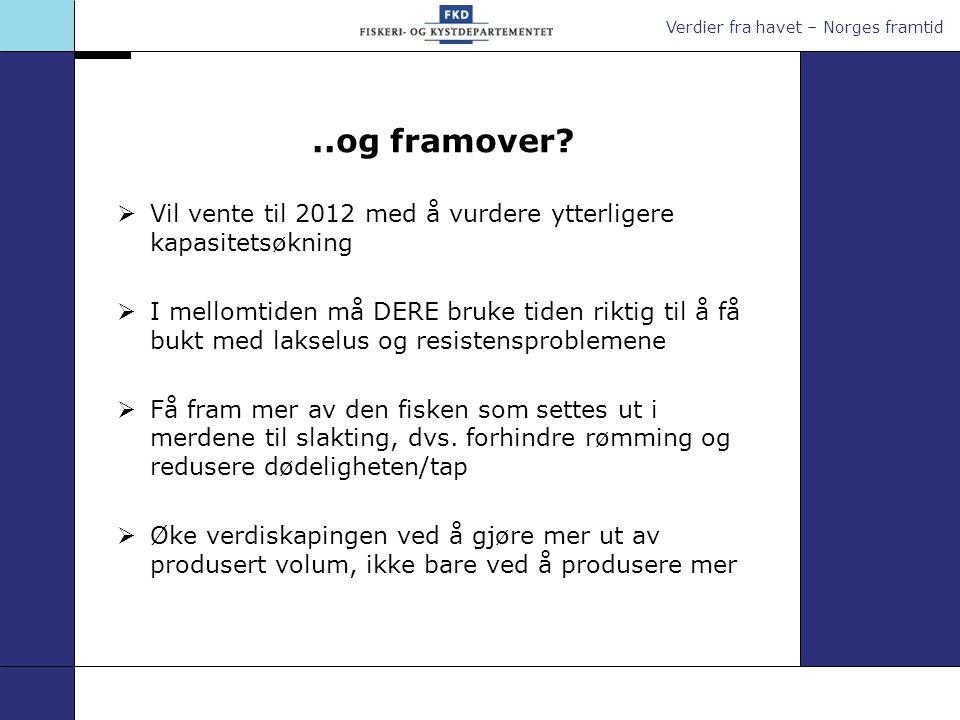 Verdier fra havet – Norges framtid..og framover.