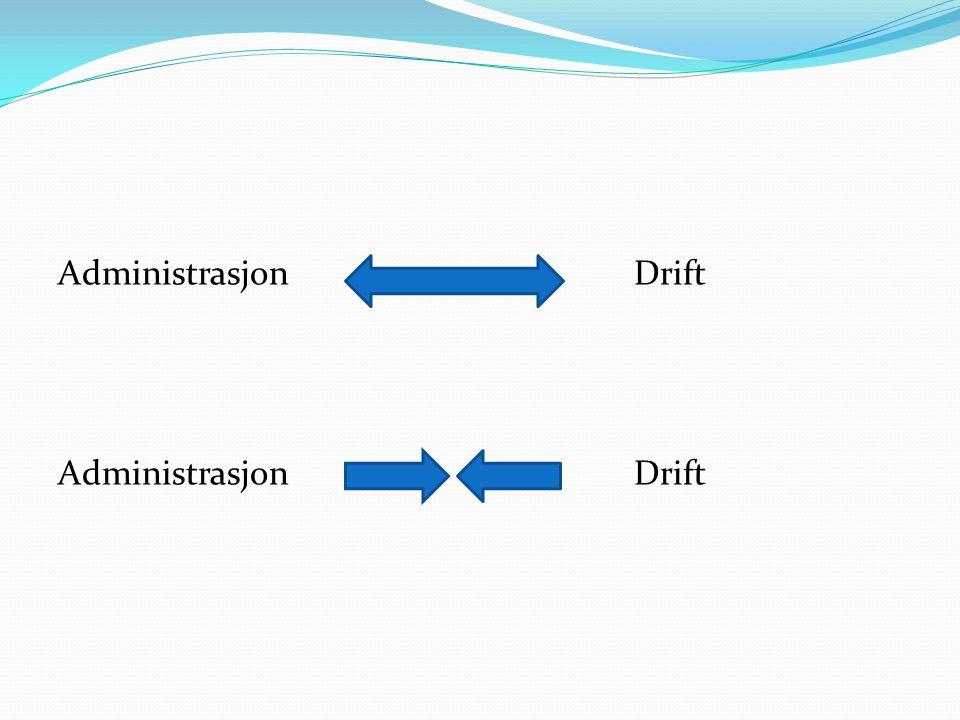 AdministrasjonDrift AdministrasjonDrift