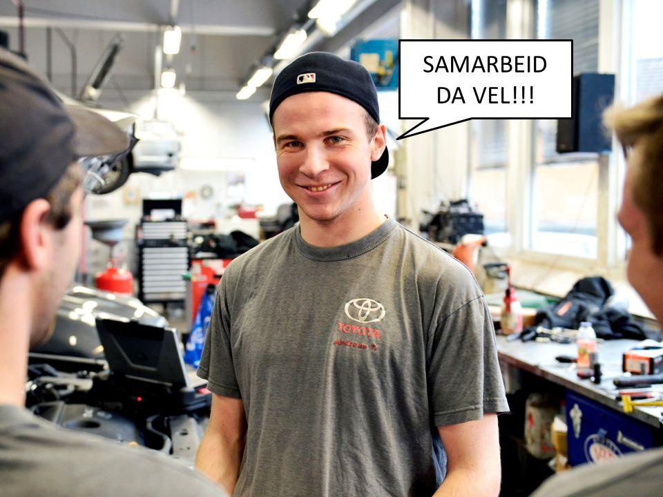 SAMARBEID DA VEL!!!