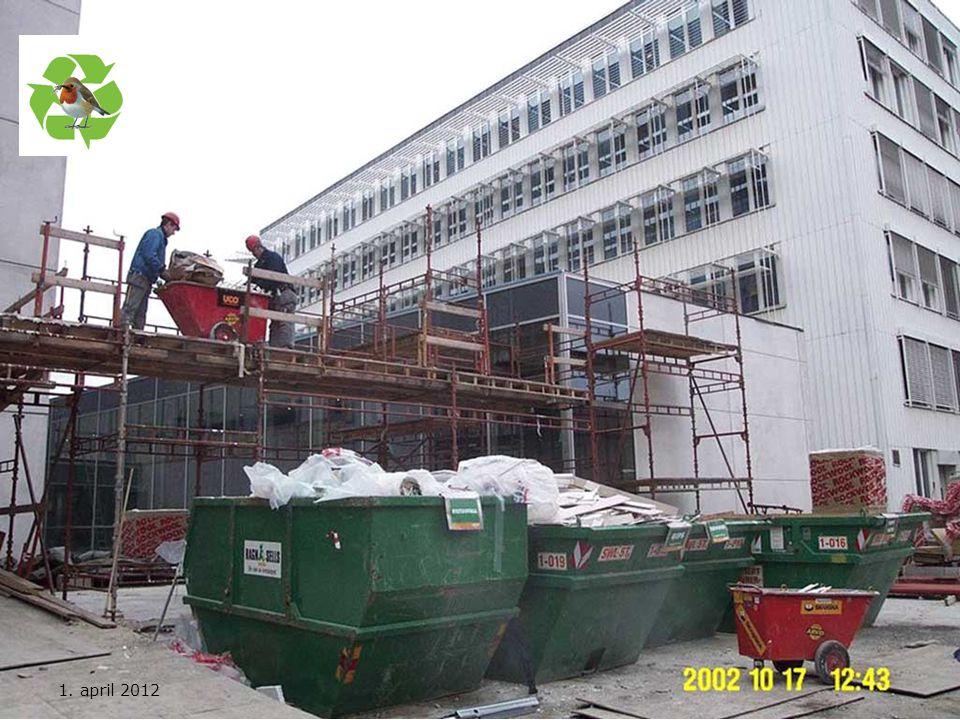 Kurs utarbeidet av Nasjonal handlingsplan for bygg- og anleggsavfall 1. april 2012
