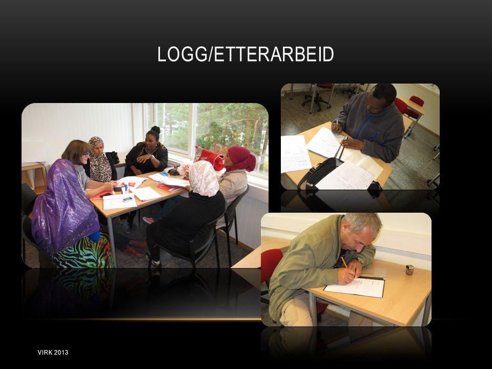LOGG/ETTERARBEID VIRK 2013