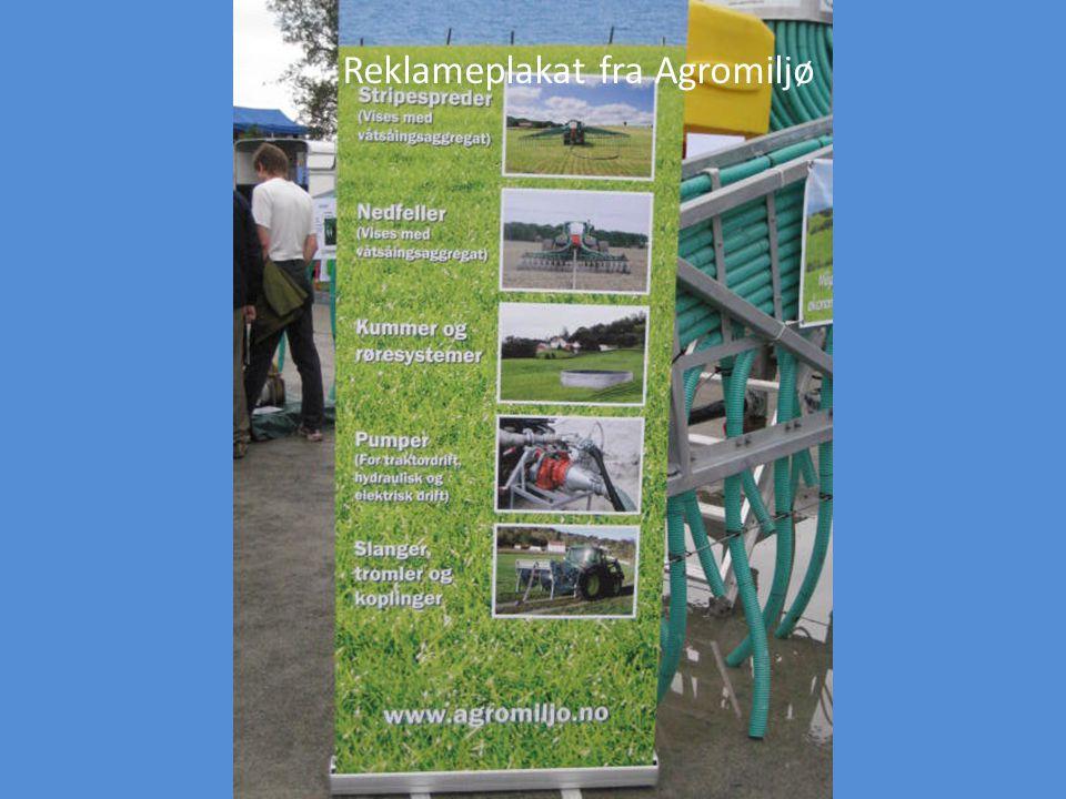 Reklameplakat fra Agromiljø