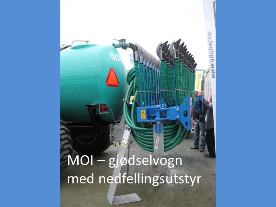 MOI – gjødselvogn med nedfellingsutstyr