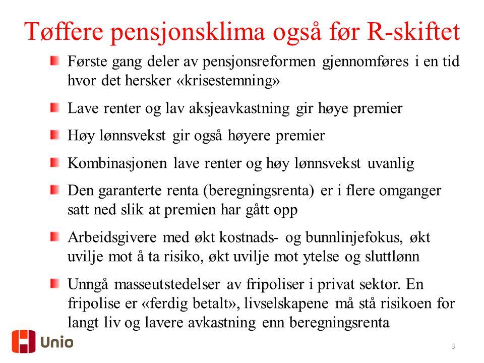 4 Rentenivået i Norge siden 1985 3-mndr. NIBOR 10 år stat