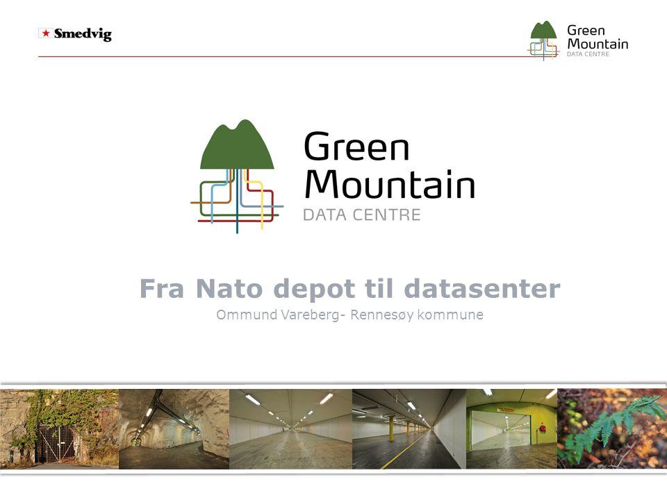 Fra Nato depot til datasenter Ommund Vareberg- Rennesøy kommune