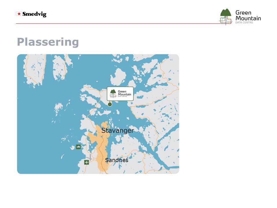 Lokalitetsoversikt Adm.bygning Lager bygning 3 x 2 Fjellhaller 2 Fjellhaller ● Ca.