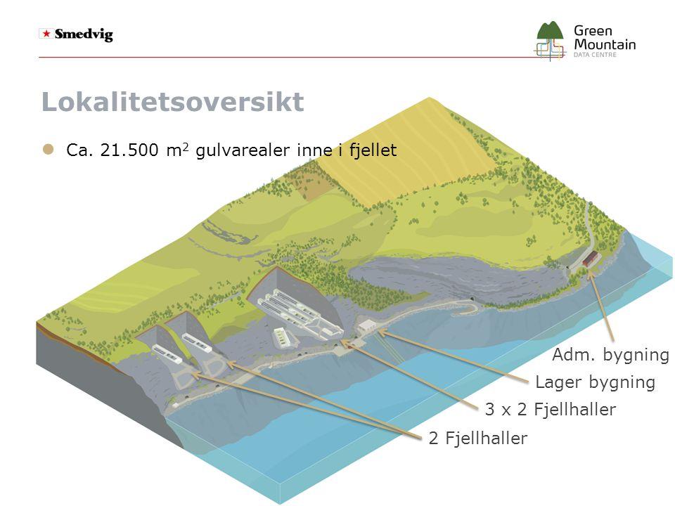 Noen bilder…. 6 haller a 11,3 x 164 m = 1.855 m 2 Fjellhall a 1.370 m 2 Dypvannskai med ro-ro rampe