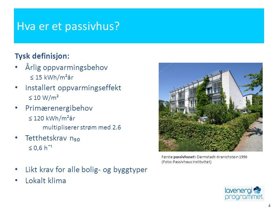 Passivhus trenger ikke å være grønne bygg • En av forutsetningene for å oppnå gode miljøbygg • Miljøbygg ivaretar mye mer enn energi • Miljøklassifisering – Energi er 1 av 9 deler i BREEAM
