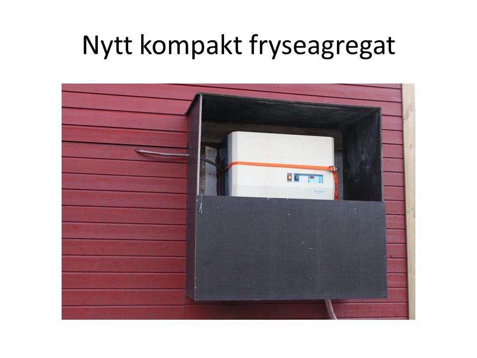 Nytt kompakt fryseagregat