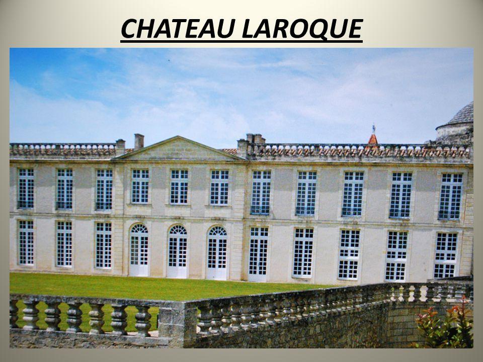 • Århundrelange tradisjoner Château Laroque er den største eiendommen i Saint-Emilion med 61 hektar udelt vinmark, hvorav kun 27 hektar av de beste tomter og eldste vinstokker brukes til produksjon av Château Laroque Grand Cru Classé.
