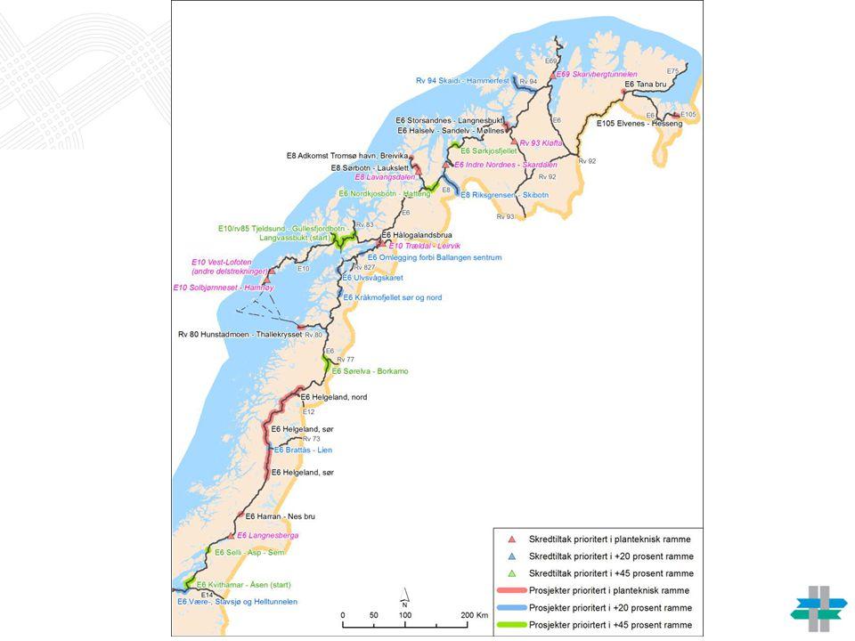 Investeringsprosjekter i nord