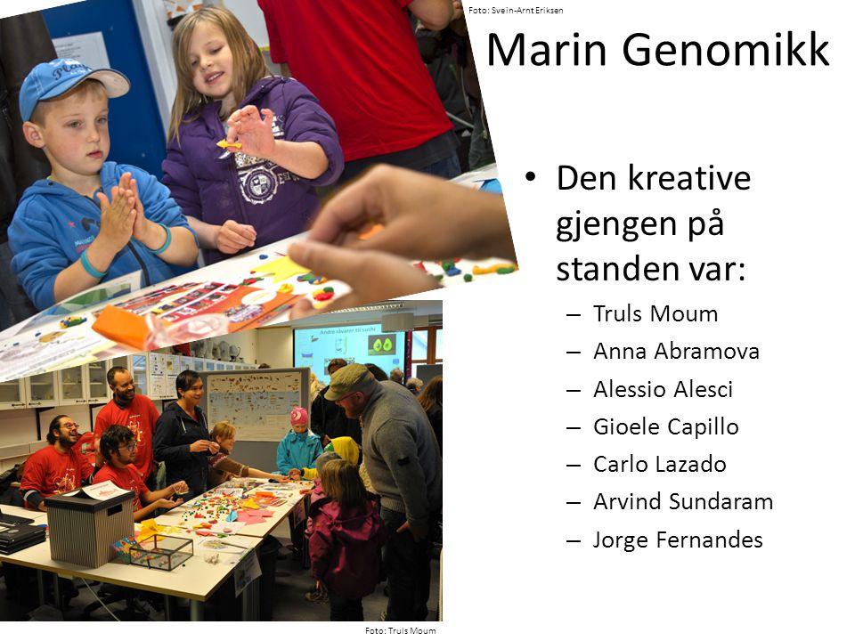 Marin Økologi – nr 1.Dykking med direkteoverførte bilder til storskjerm på land.