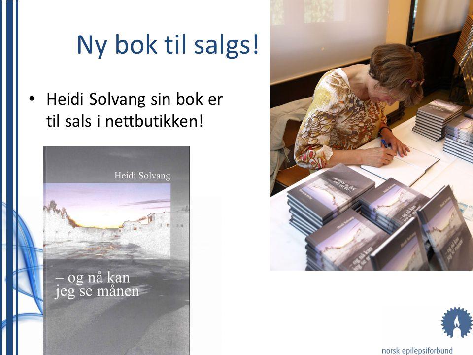 Ny bok til salgs! • Heidi Solvang sin bok er til sals i nettbutikken!