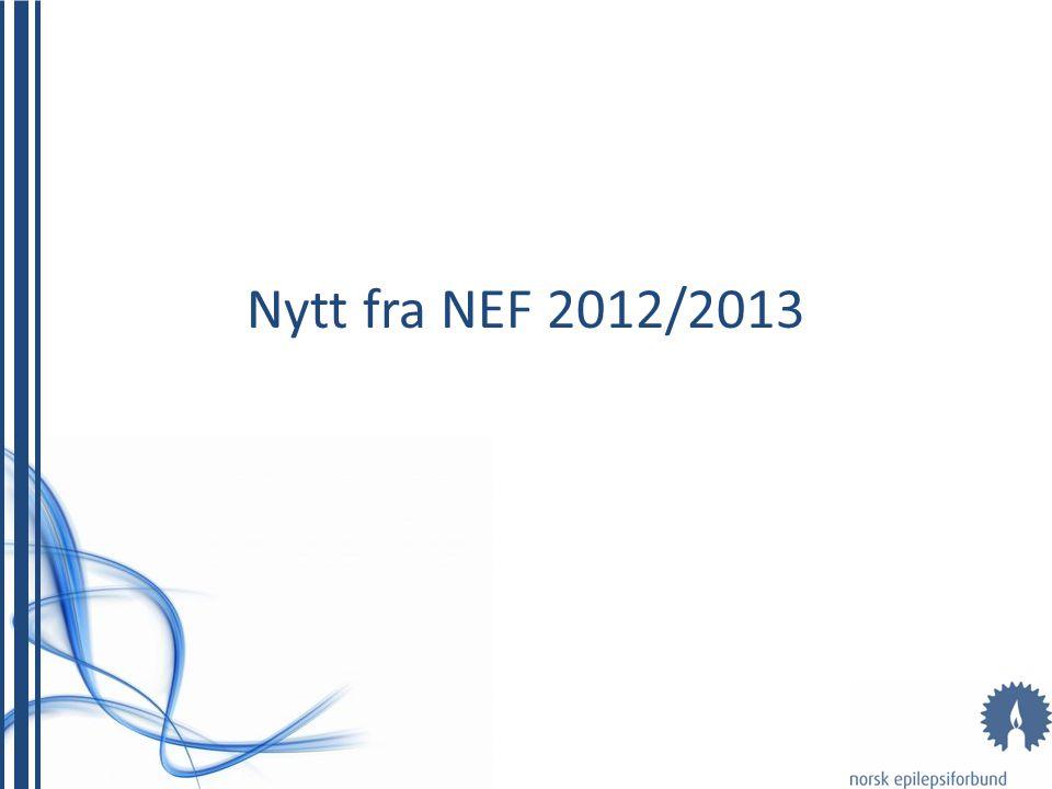 Nytt fra NEF 2012/2013