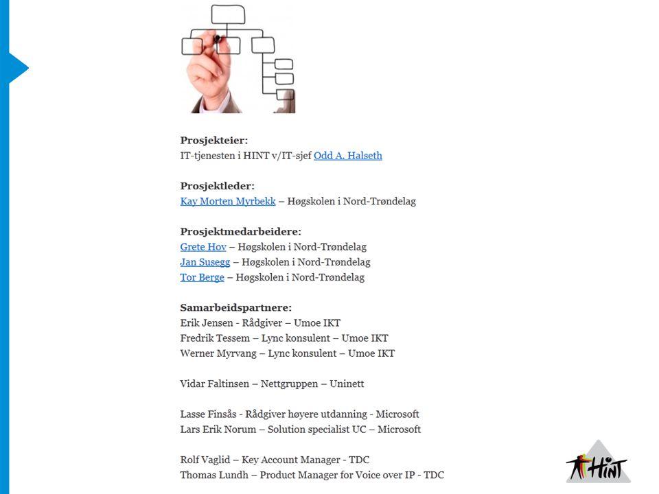 Eksempel - Jobb i utlandet Du jobber fra hotel i USA via trådløst nett pålogget Lync.