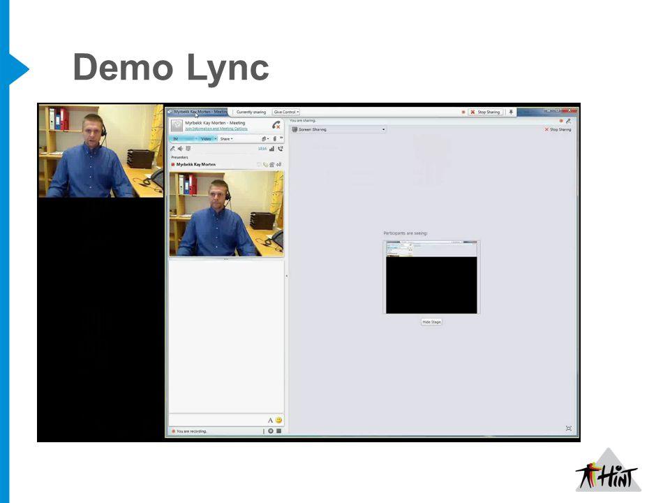 Demo Lync