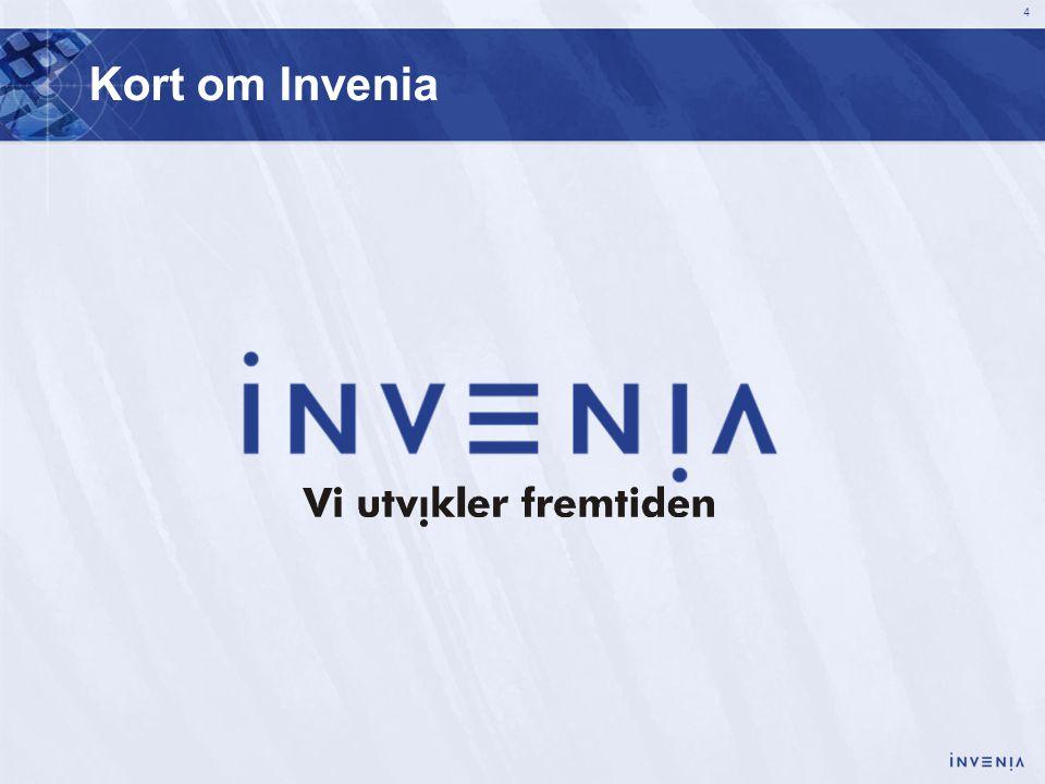 4 Kort om Invenia